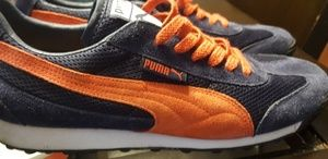 Puma Sneakers Navy Orange
